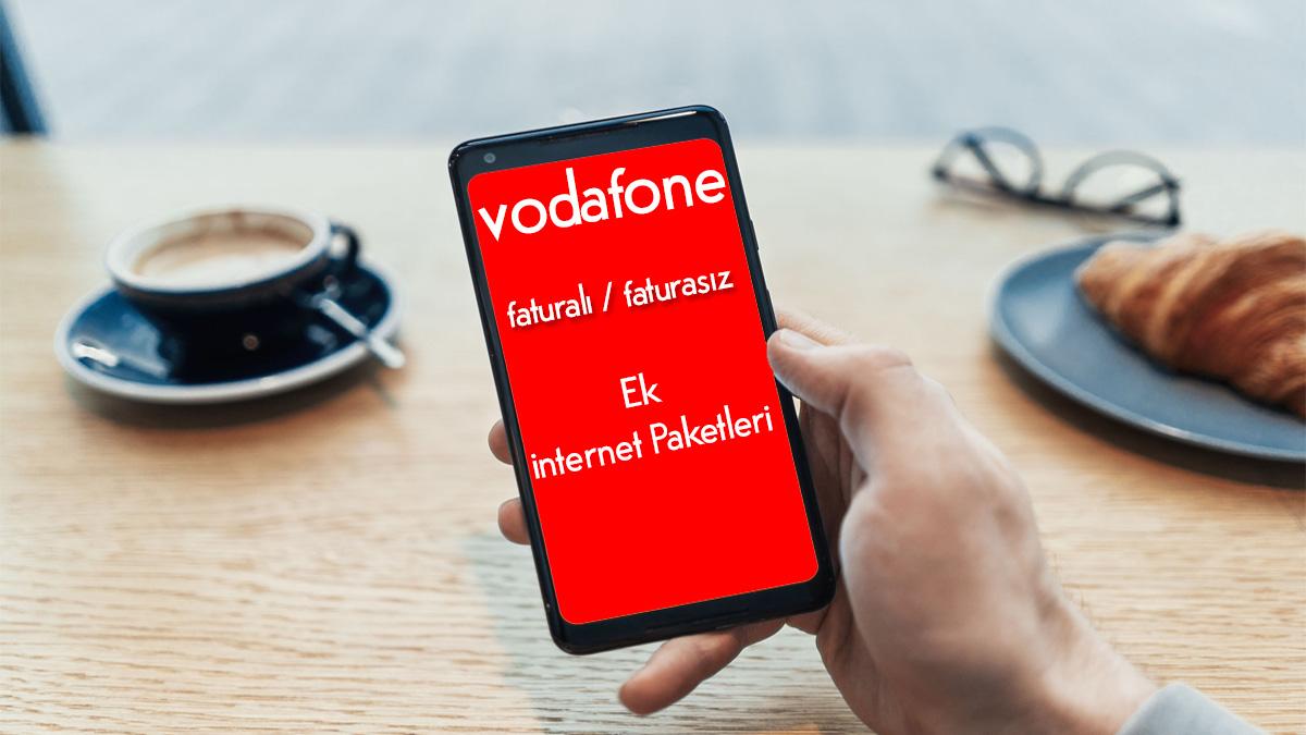 Vodafone Faturalı ve Faturasız Ek İnternet Paketi Nasıl Alınır? - Bedava  İnternet