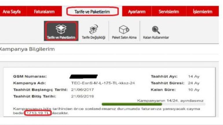 Vodafone Taahhüt Sorgulama Nasıl Yapılır? Cayma Bedeli Öğrenme - Bedava  İnternet