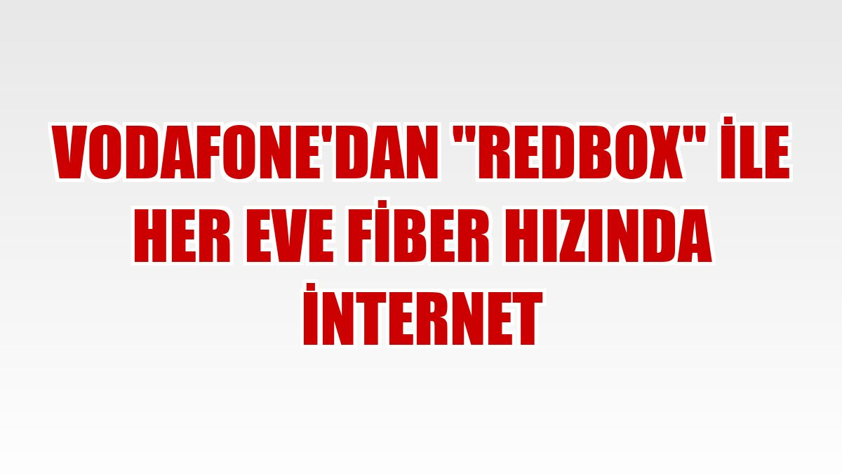 vodafone red box